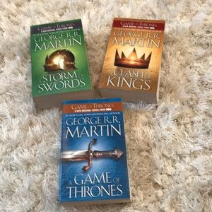 Game of Thrones 3 book set